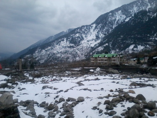 Near solang valley
