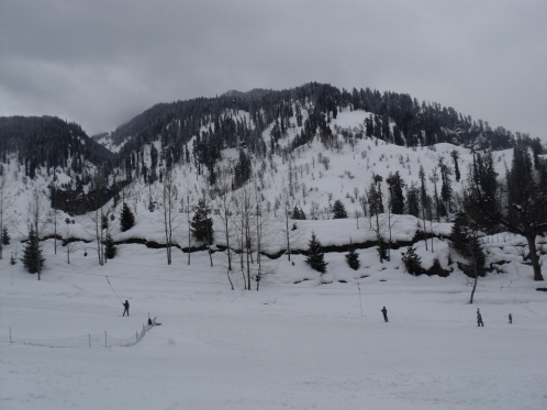 Solang valley, showfall, hiamchal pradesh, manali, kullu, skiing.