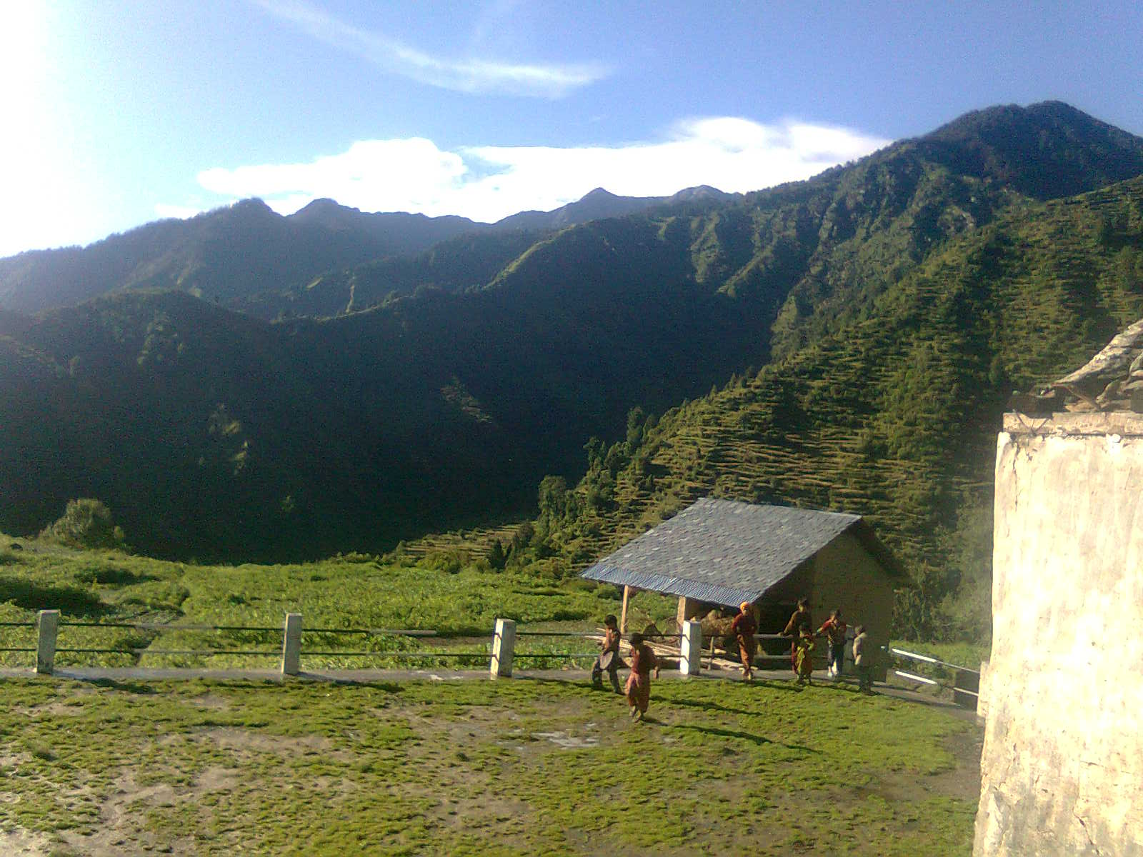Barot valley in Himachal