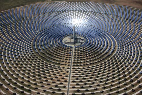 Solar energy, future of energy production, Gemasolar, Spain