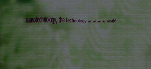 Nanotechnology, the future technology.