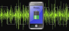 Charging Mobile Phones using sound