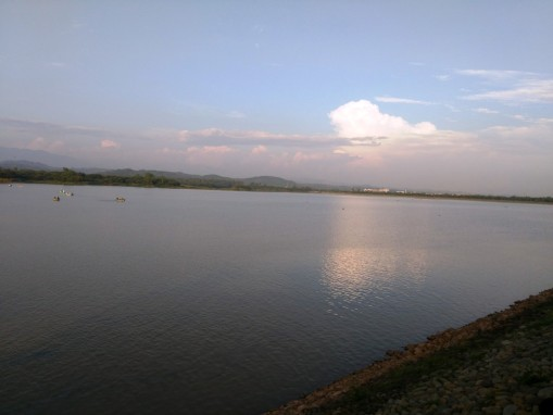 Sukhna Lake Chandigarh IMG_20150718_182702