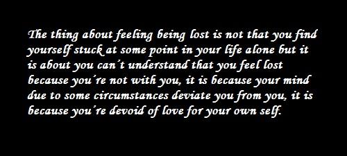Quote - Devoid of Love